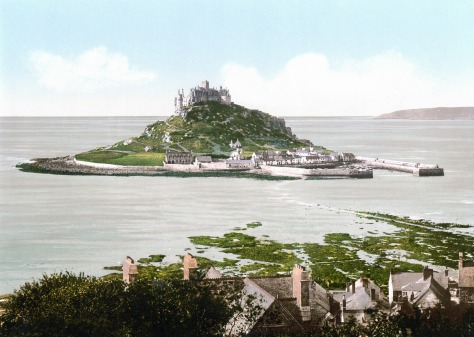 England-Saint-Michaels-Mount-1900-1