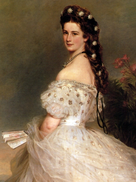 Empress_Elisabeth_of_Austria_in_dancing-dress,_1865,_Franz_Xaver_Winterhalter