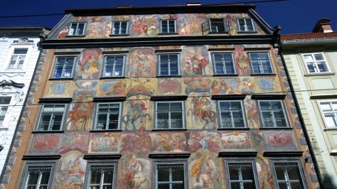 Bemaltes Haus