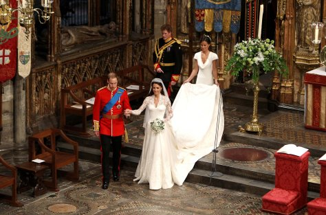 The wedding of Prince William and Catherine Middleton, Westminster Abbey, London, Britain - 29 Apr 2011