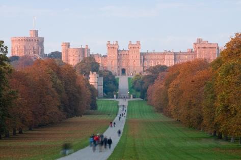 Windsor_Castle_at_Sunset_-_Nov_2006