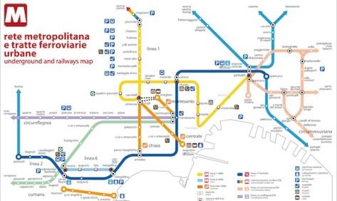 MetroNapoliMetroMap