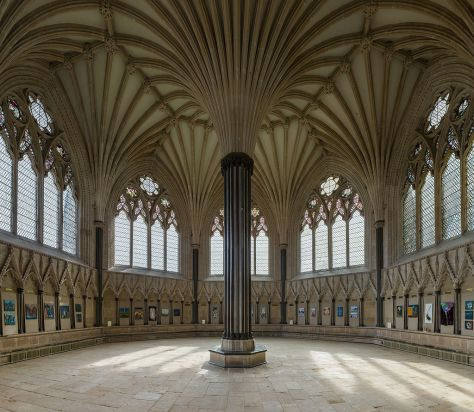Wells_Cathedral_Chapter_House,_Somerset,_UK_-_Diliff